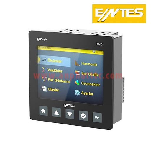 ĐỒNG HỒ GIÁM SÁT EMK-01 ENTES - Ethernet